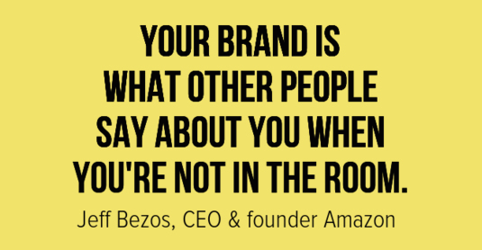 Jeff Bezos on Branding