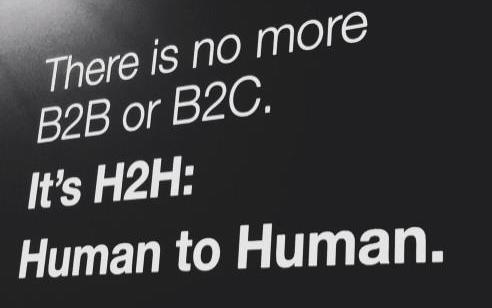Human to human marketing on Linkedin
