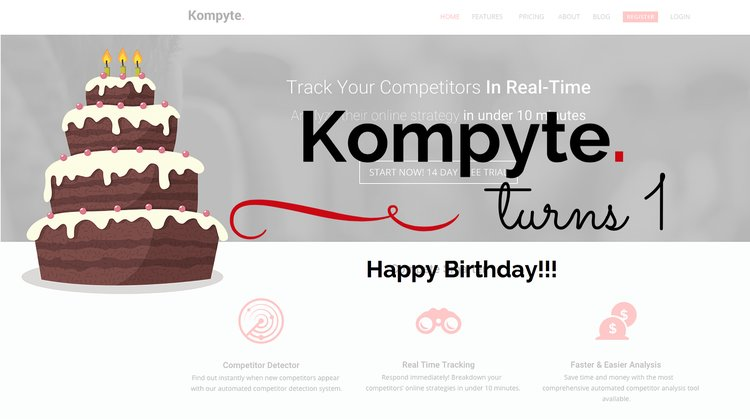 Kompyte Turns 1