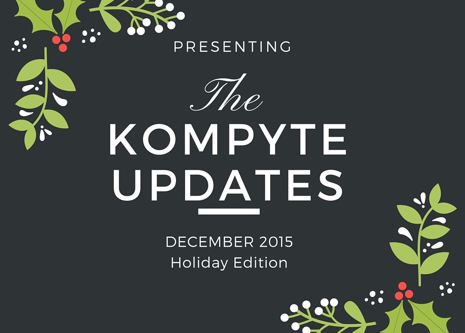 New Kompyte Competitor Tracking Updates and How To Use Them