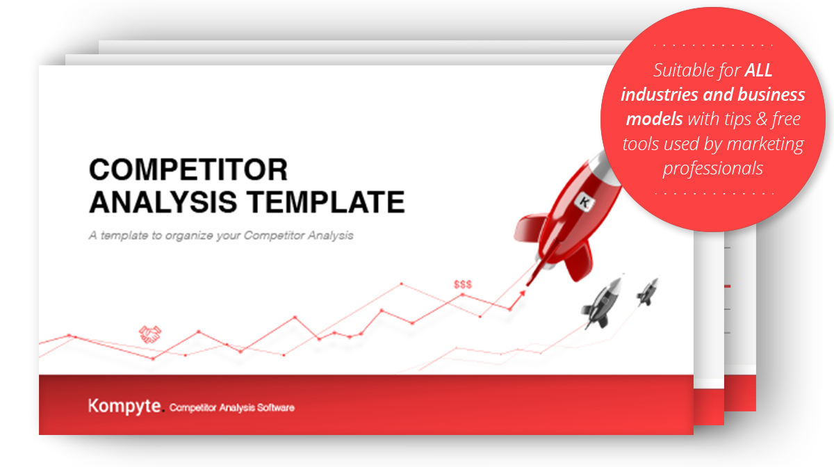 Competitor analysis template free download kompyte for Competitor research template