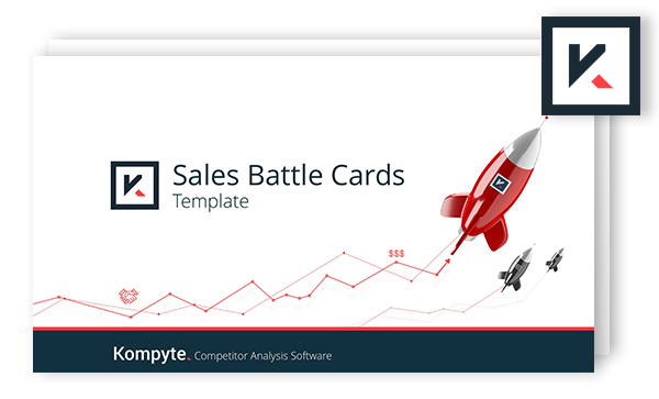 Sales Battle Cards Template | Free Download | Kompyte