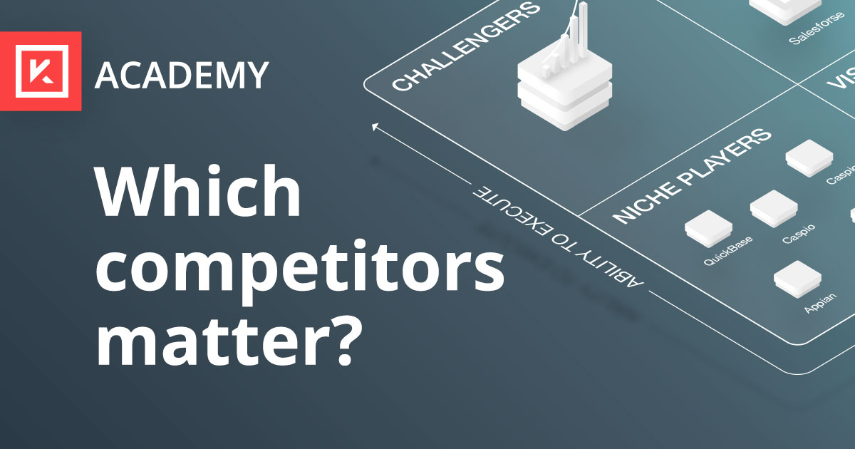 Which competitors should you be tracking anyway? | Kompyte