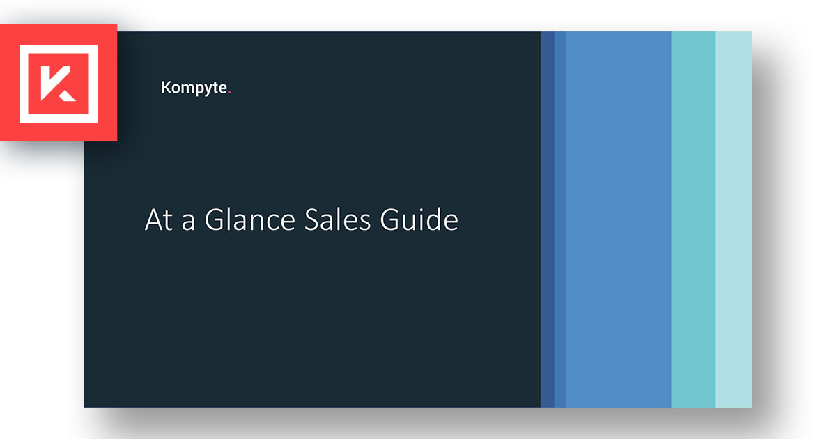 Download Your At-a-Glance Sales Guide Template