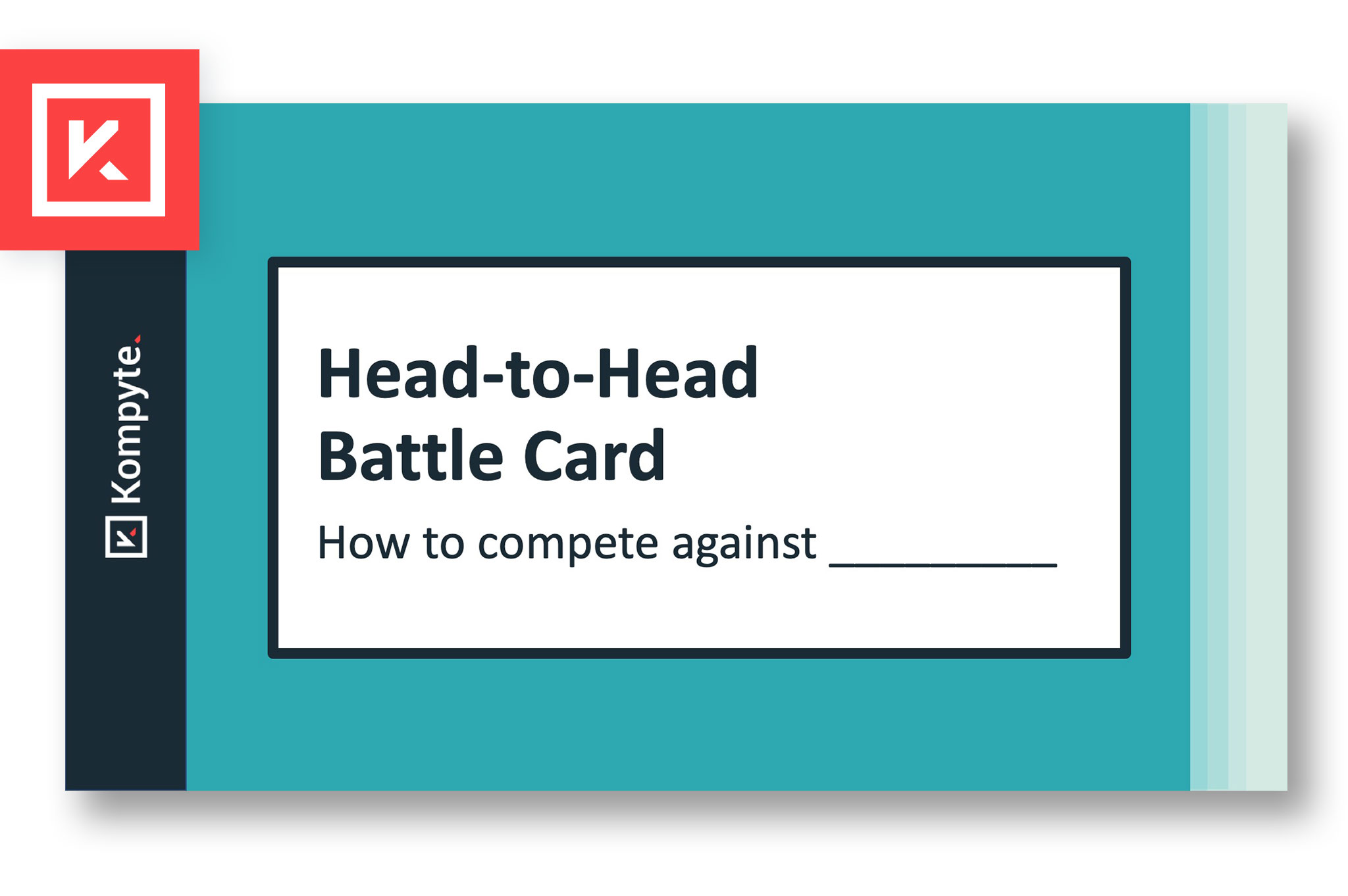 Download 2019's top-performing Head-to-head Battle Card Template
