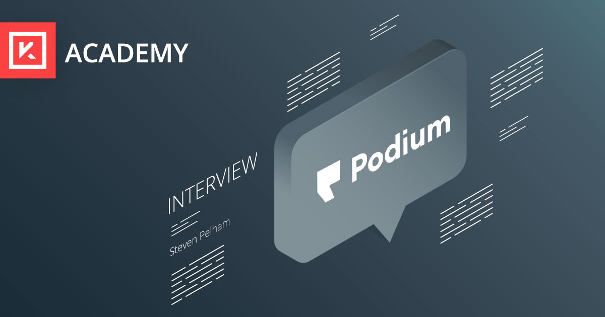 Interview with a Product Marketer: Steven Pelham, Podium