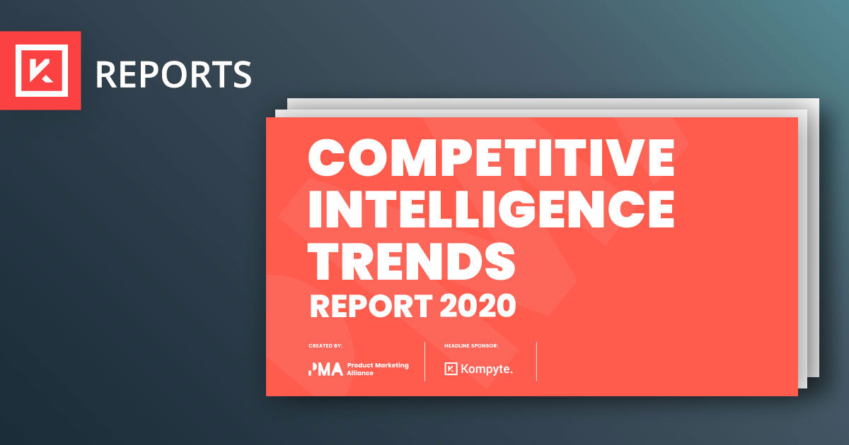 2020 PMA Competitive Intelligence Trends Report