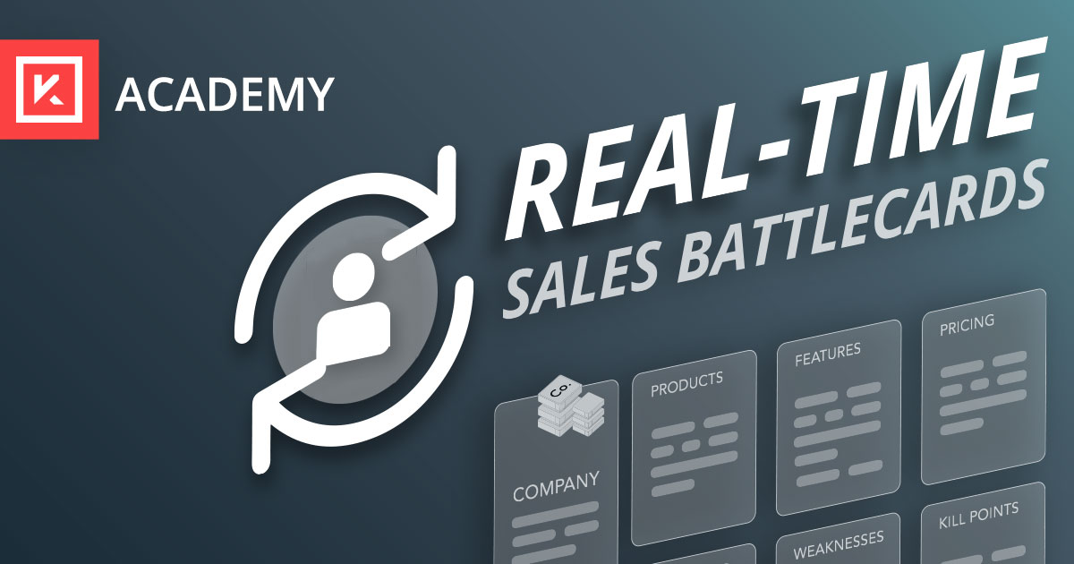 How to Create Intelligent Sales Enablement Based on Real-Time Insights
